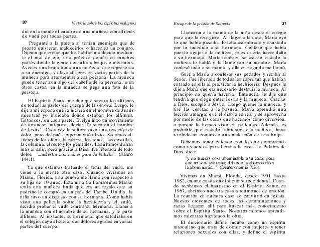32  Victoria sobre los espíritus malignos  súcubo como un espíritu femenino que trata de dormir con hombres (ver el capítu...