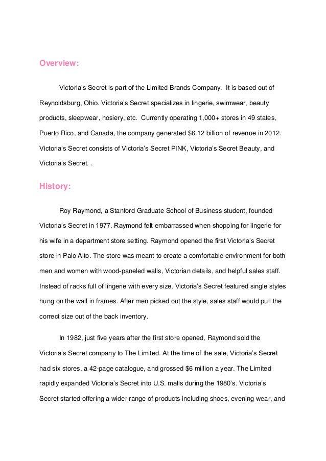 victoria u0026 39 s secret media plan