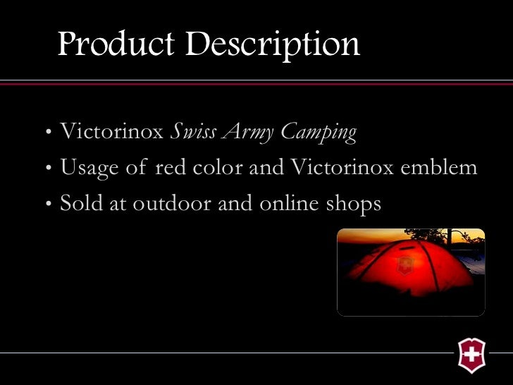 Victorinox Brand Extension Project