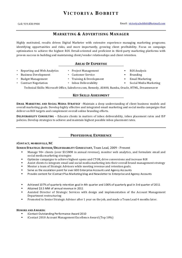 resume spoken languages