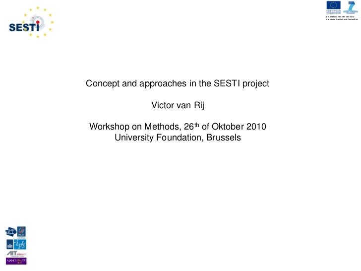Project funded under the Socio-                                              economic Sciences and HumanitiesConcept and a...