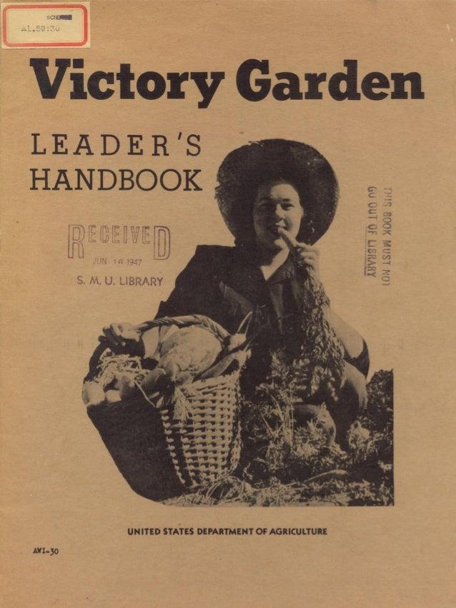 Victory garden leaders handbook (1943)