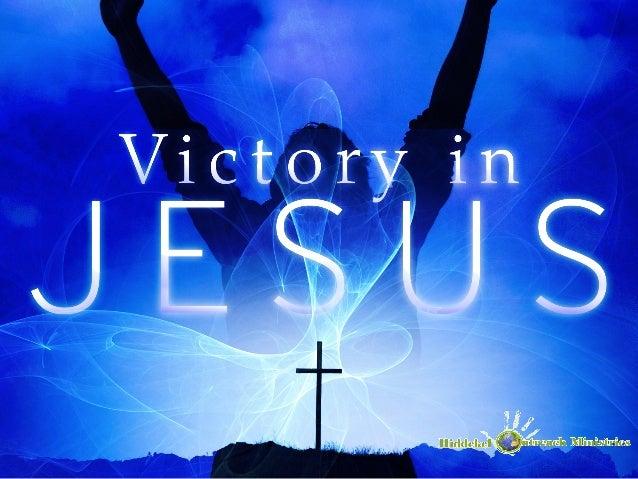 Victory In Jesus Lyrics