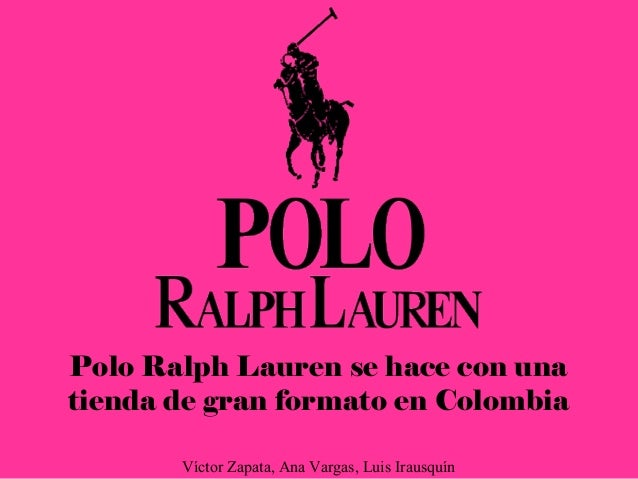 Se Víctor Hace… ZapataAna Irausquín VargasLuis Polo Ralph Lauren OXPukZTilw