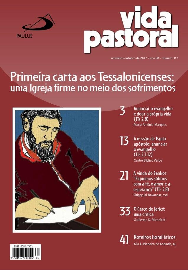 33 O Cerco de Jericó: uma crítica Guillermo D. Micheletti PrimeiracartaaosTessalonicenses: umaIgrejafirmenomeiodossofrimen...