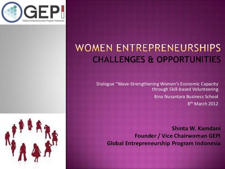 "Dialogue ""Wave-Strengthening Women's Economic Capacity                         through Skill-based Volunteering           ..."