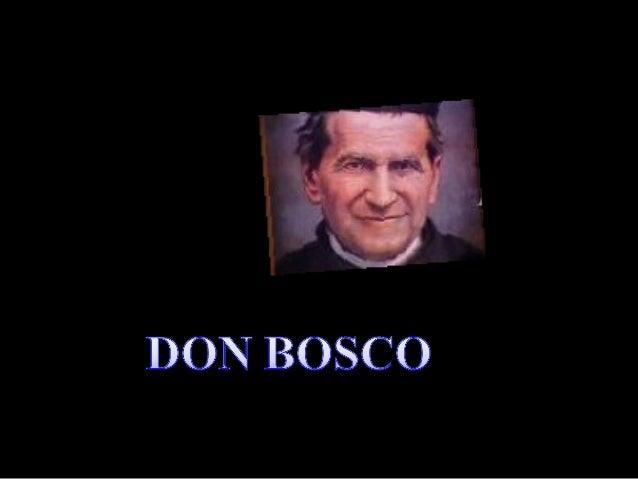 Juanito Bosco nace el de 16 agosto de 1815 en un pequeño caserío de Castelnuovo D'Asti, en el Piamonte, llamado popularmen...