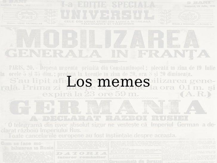 La vida de los memes Slide 3
