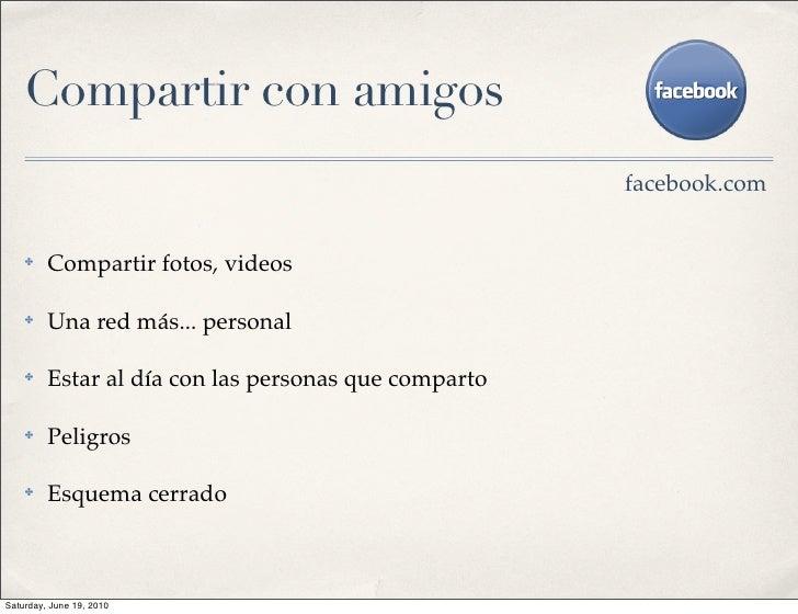 Compartir con amigos                                                       facebook.com       ✤    Compartir fotos, videos...