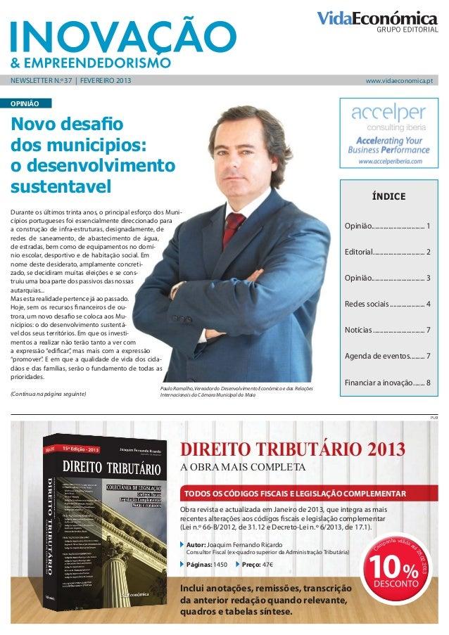 newsletter N.º 37   FEVEREIRO 2013                                                                                        ...