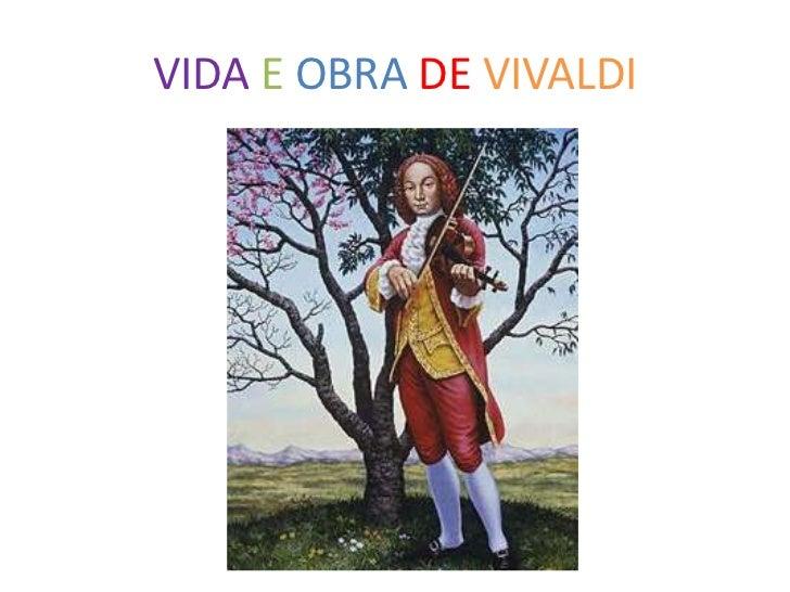VIDA E OBRA DE VIVALDI