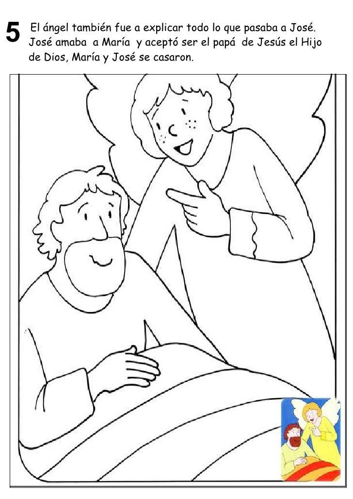 Imagenesparacolorearwebsite Dibujos Para Colorear De Jesus Maria
