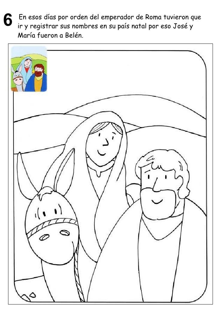 Vida Maria Para Colorear