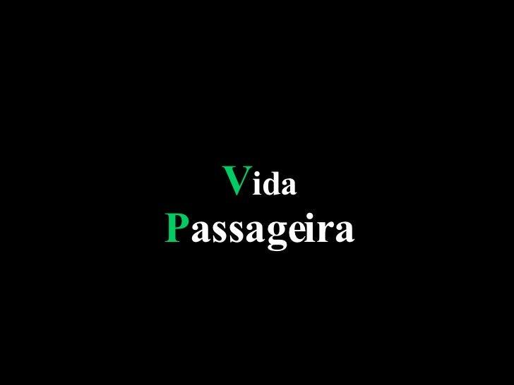 VidaPassageira