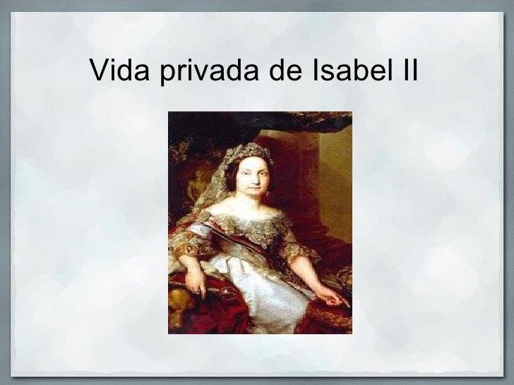 Vida privada de Isabel II