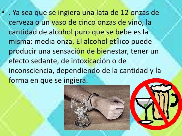 Las codificaciones del alcohol en tveri