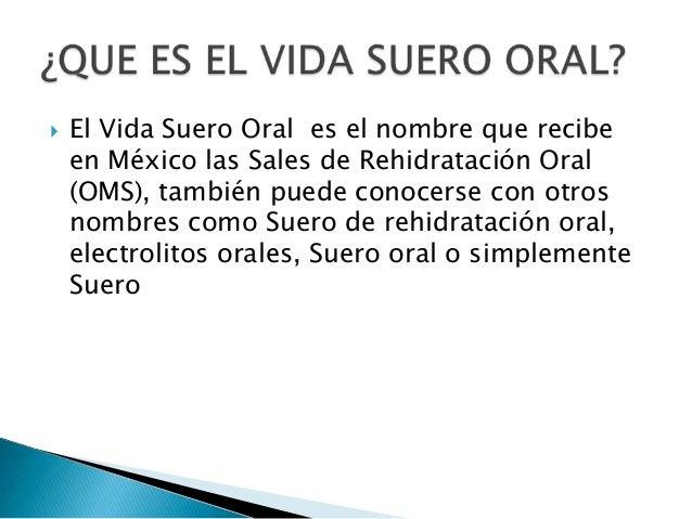 sales para rehidratacion oral t.r.o