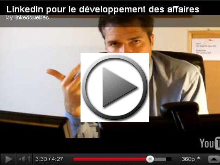 Développement des affaires par LinkedIn : Conférences - Formations - Accompagnement