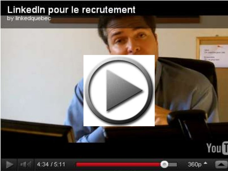Recrutement sur LinkedIn : Conférences - Formations - Accompagnement