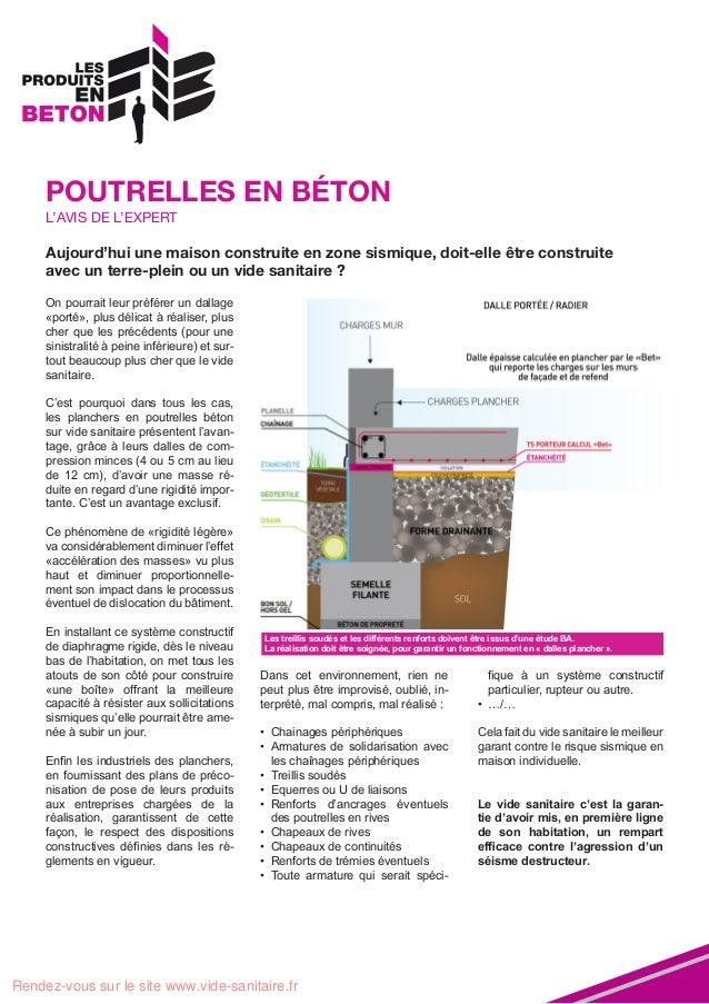 L'Avis De L'Expert Du Vide Sanitaire - Aujourd'Hui Une Maison Constru…