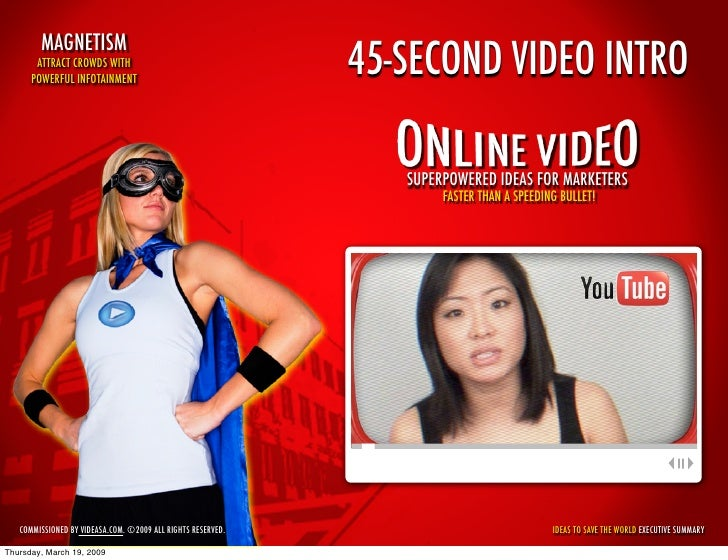 45-Second YouTube Intro to Online Video: Superpowered Ideas