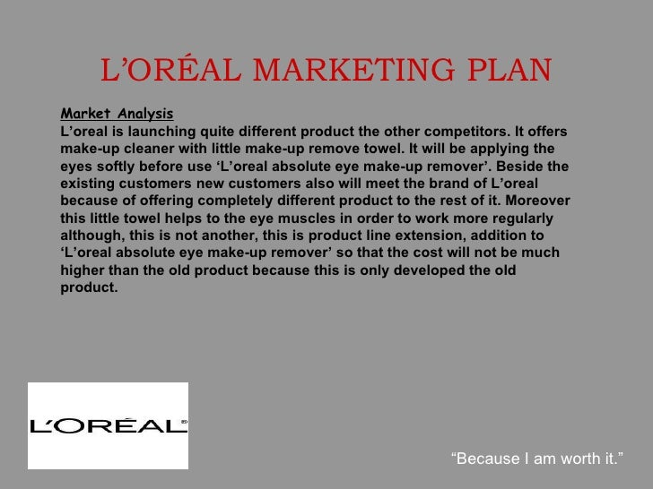 "l oreal marketing analysis marketing essay Preparation of the sale forecast 3 appraisal of competition profile 4 analysis of marketing shares 5 control of distribution 6 schedule of publicity 7  marketing strategies l'oreal essay  the power consumption of competitors have got something to do with ""l'oreal's business the need to reduce energy consumption is taken as a."