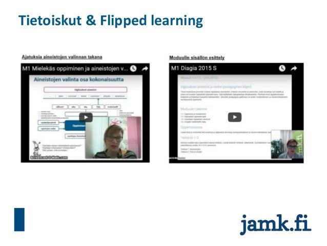 Tietoiskut & Flipped learning
