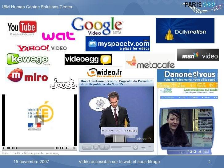 Explosion de la vidéo sur Internet dans tous les secteurs