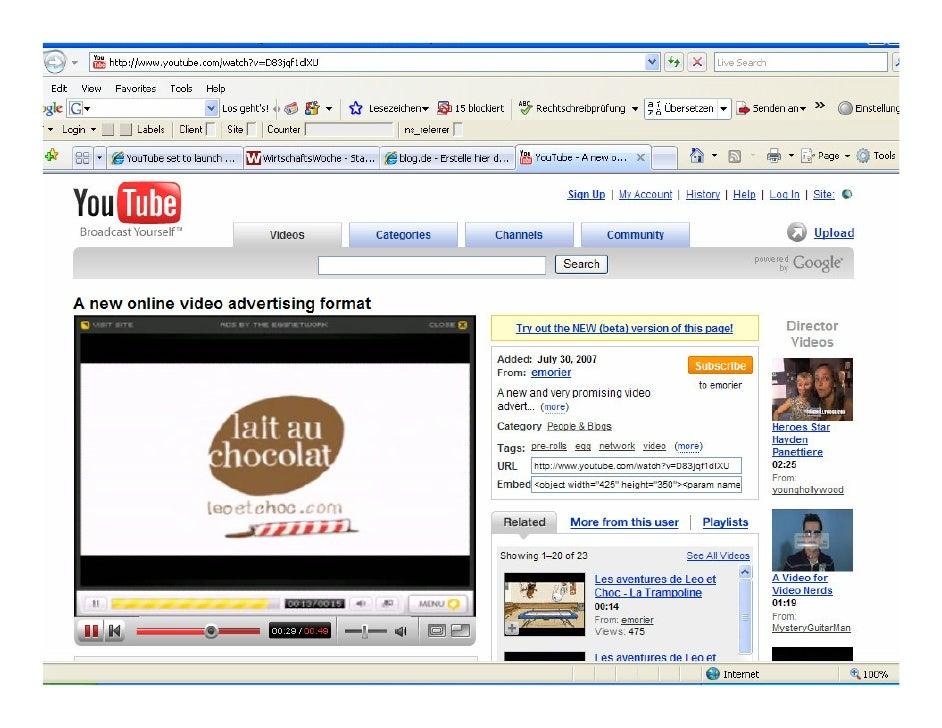 Video-Beispiele - Zukunft der Videowerbung  • Surface Tags   • Ersetzen von lästigen Werbepausen    • Verknüpfung von Send...