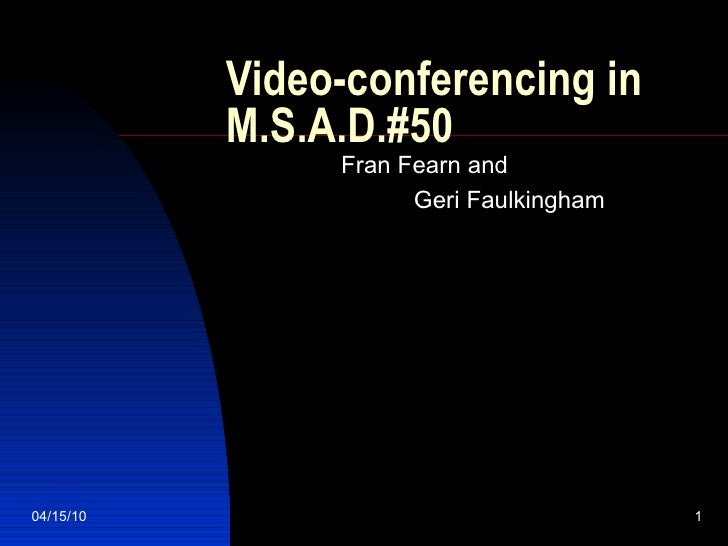 Fran Fearn and  Geri Faulkingham Video-conferencing in M.S.A.D.#50