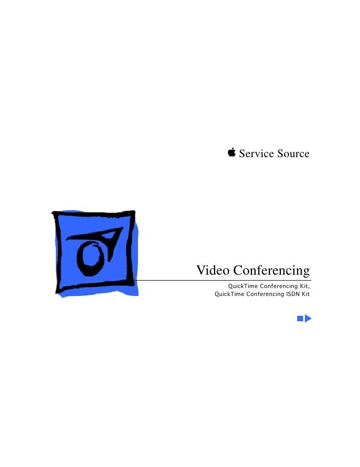 K Service Source     Video Conferencing       QuickTime Conferencing Kit,   QuickTime Conferencing ISDN Kit