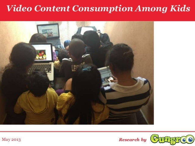 Video Content Consumption Among KidsResearch byMay 2013