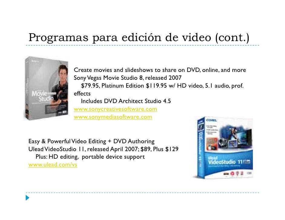 Wikipedia sobre Videodigital    http://en.wikipedia.org/wiki/Digital_video   http://en wikipedia org/wiki/Digital video