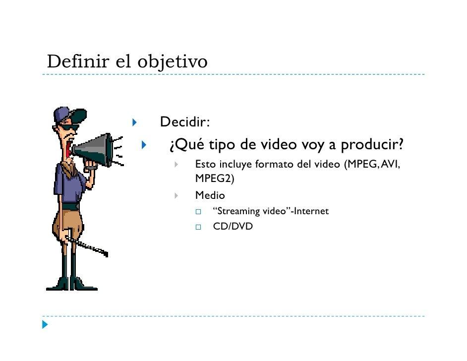 """Storyboard o Guión   El """"storyboard""""o el g           y           guión del video conlleva una  planificación organizada.  ..."""