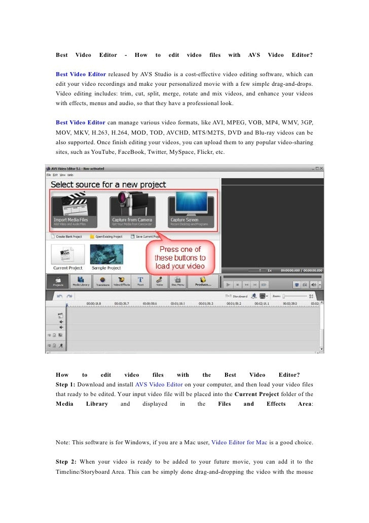 Best   Video    Editor    -   How     to   edit   video    files   with   AVS     Video    Editor?  Best Video Editor rele...