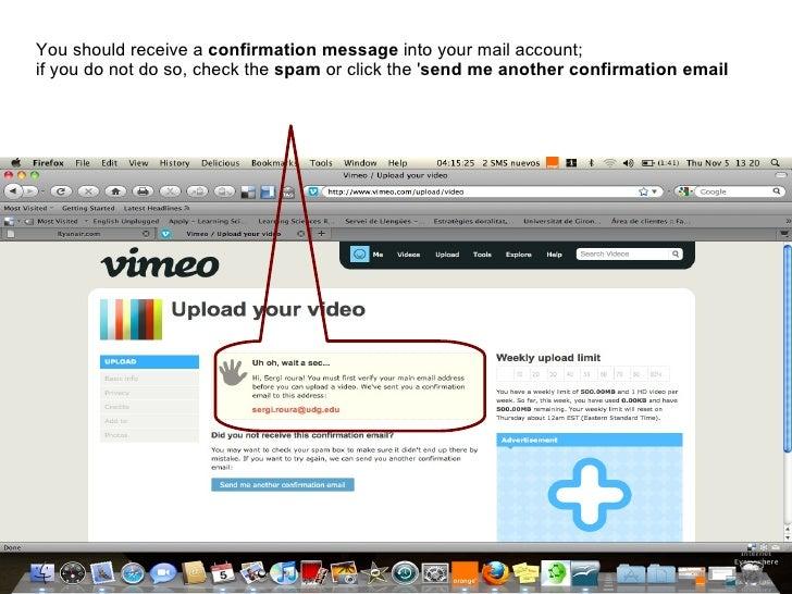 vimeo tutorial