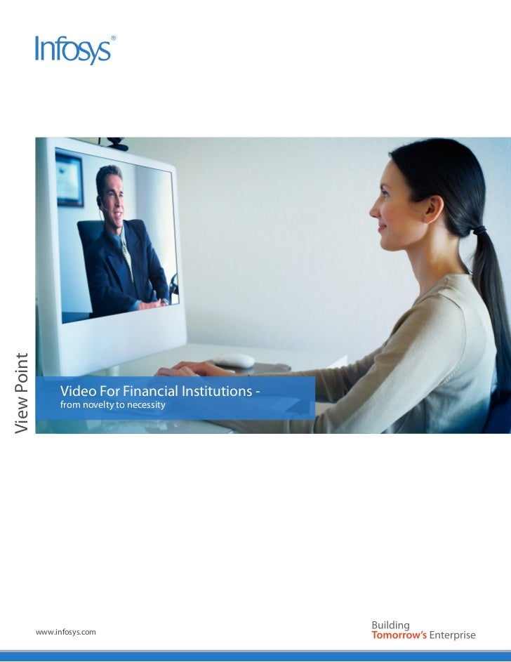 Image AreaView Point                   Video For Financial Institutions -                   from novelty to necessity     ...