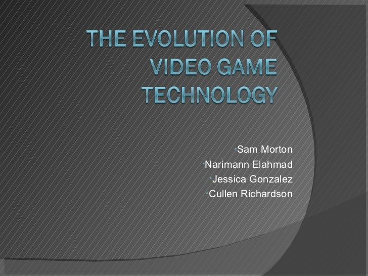 Video game powerpoint video game powerpoint ullisam morton liul toneelgroepblik Choice Image