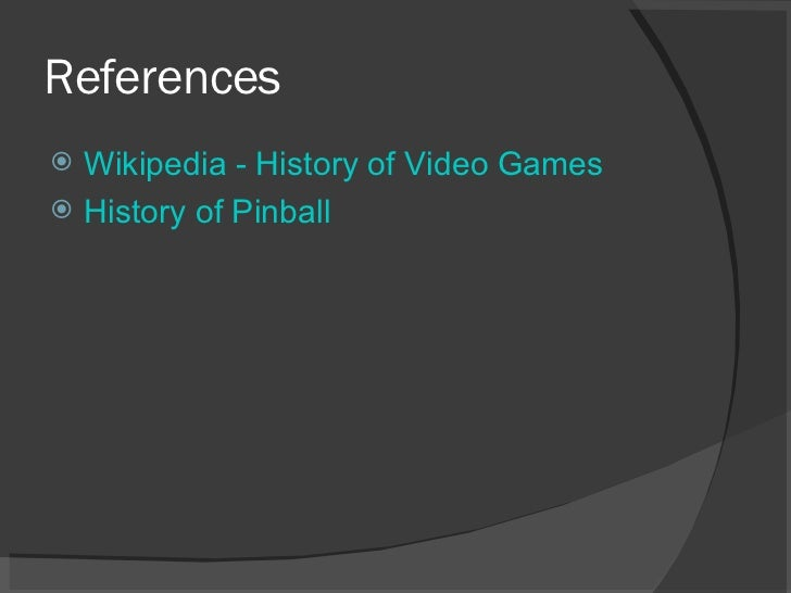 Video Game Powerpoint