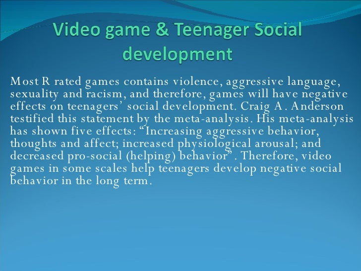 effect of videogames on children essay Effects of video games and its impacts on young boys introduction: effects of video games on children discusses that will parents continue to bear the adverse effects of video games or will the good effects of video game continue to encourage young boys, while they bear its negati ve effect that would continually affect their daily performances nearly every american kid finds video games.