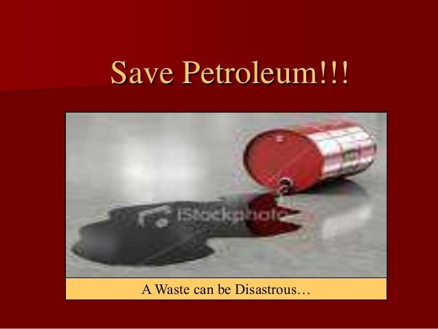 how can we conserve petroleum