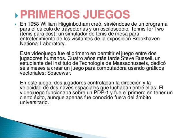 VIDEO JUEGOS  Slide 3