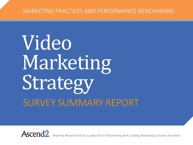 SURVEY SUMMARY REPORT Monthly Research Series Conducted in Partnership with Leading Marketing Solution Providers MARKETING...