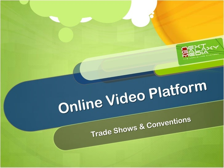 Our Video Technology and Marketing Company     is Supported through 3 Business UnitsVideoPlatformContentSyndication/Advert...