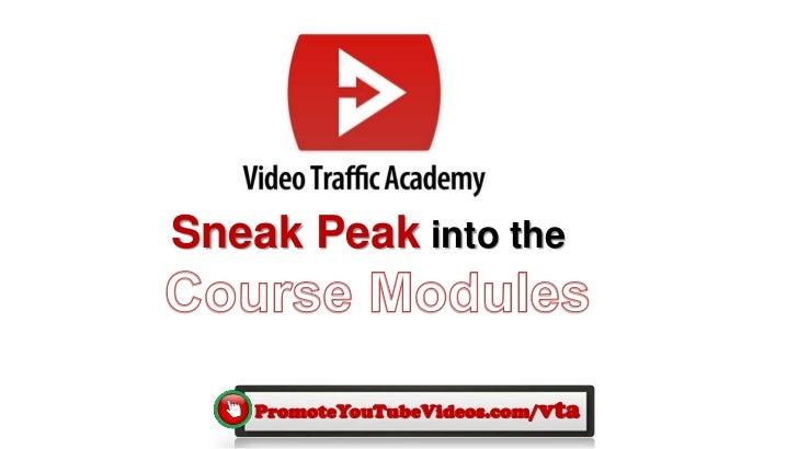 Sneak Peak into the    PromoteYouTubeVideos.com/vta
