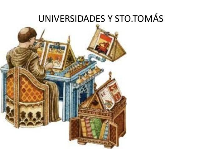 UNIVERSIDADES Y STO.TOMÁS