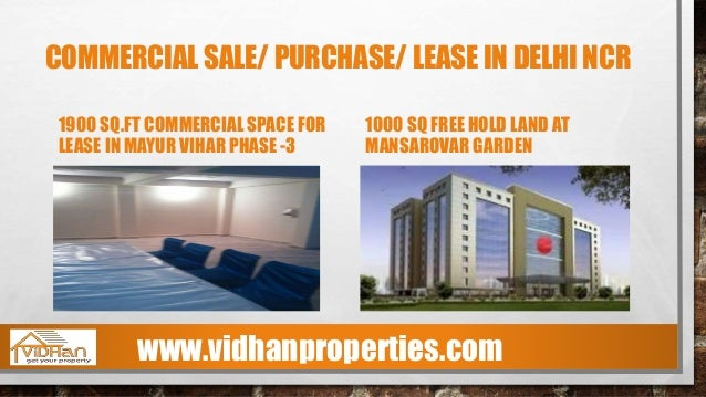 COMMERCIAL SALE/ PURCHASE/ LEASE IN DELHI NCR OFFICE SPACE AVAILABLE FOR LEASE IN JASOLA, DELHI 4500 SQ.FT OFFICE SPACE AV...