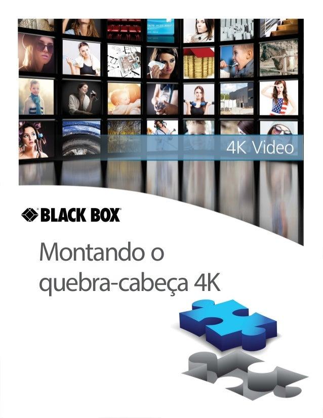 Montando o quebra-cabeça 4K BLACK BOX ®