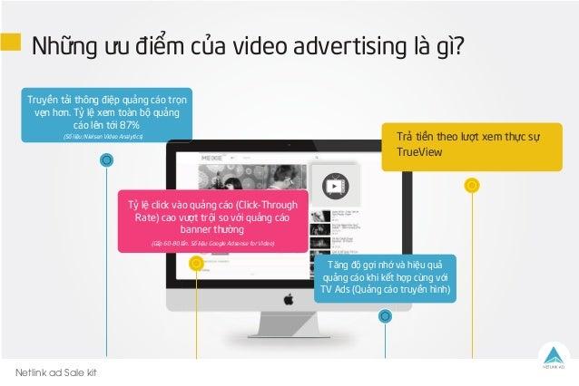 4. Những ưu điểm của video advertising là gì?