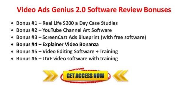 Video ads genius 20 and mega bonuses review genius tubesift monthly 8 malvernweather Image collections